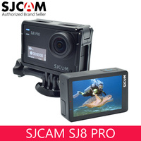 SJCAM SJ8 Pro OLED Real 4k 60fps Water Resistant Action Camera,Large Ultra Full HD Touchscreen,EIS Stabilized with External MIC