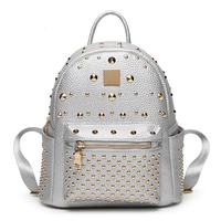 New Women Colorful Plaid Mosaic Backpack Rainbow Magic Cube Female Fashion Girl Daily Backpack Geometry Package