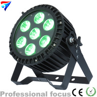 Free Shipping 7x18w Rgbwa Uv 6 In 1 Super Bright Led Par Light Led Par Can For Disco Stage Dj