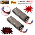 2 ШТ. Оригинальный 7.4 В 2700 мАч H501S 20Wh 10C Lipo Аккумулятор для Hubsan X4 FPV GPS РАДИОУПРАВЛЯЕМЫЙ Беспилотный