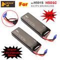 2 PCS Original 7.4V 2700mAh 10C 20Wh Lipo Battery for Hubsan H501S X4 FPV GPS RC Drone