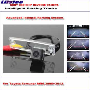 Auto Intelligentized Backup Kamera Für Toyota Fortuner SW4 2005 ~ 2012 Hohe Qualität Parkplatz-hintere Kamera RCA SONY CCD