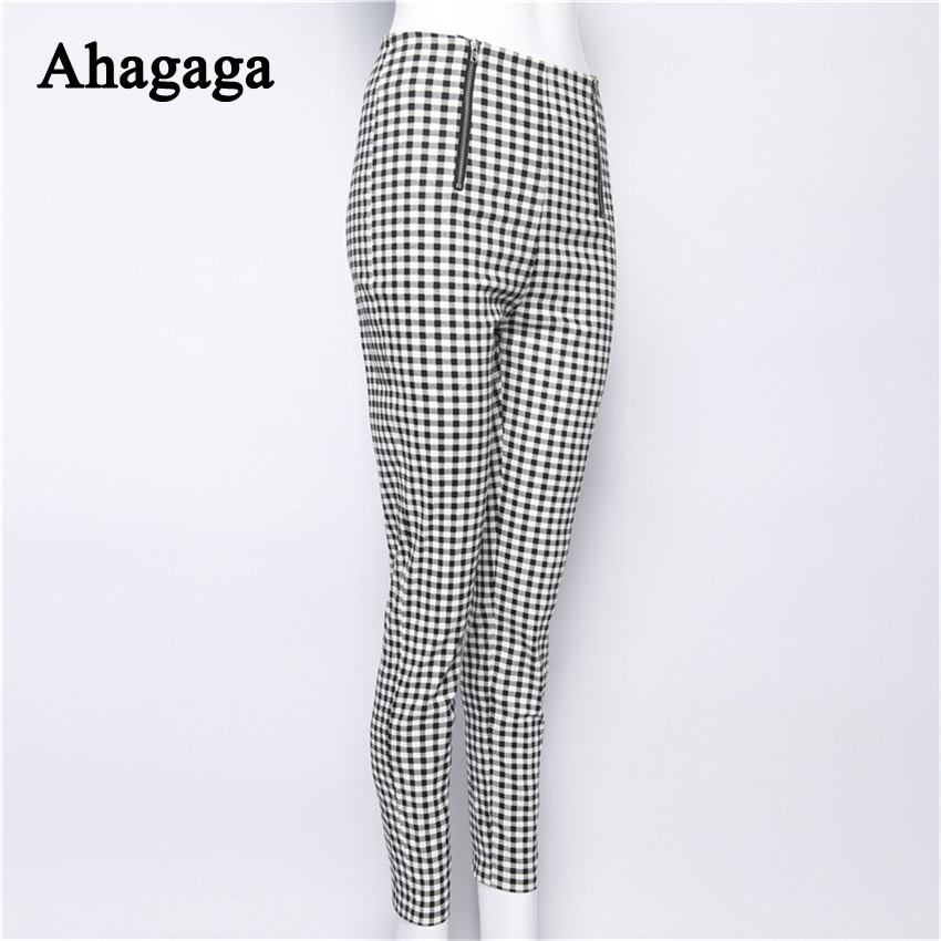 HTB1Ej74SXXXXXa2XXXXq6xXFXXXW - FREE SHIPPING Plaid Trousers For Women JKP177