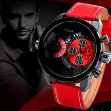 10 Colores Nuevos hombres de la Moda Relojes de Cuarzo Relojes de Los Hombres A Prueba de agua Ejército Militar Relojes Relogio masculino