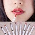Hot mejor rotatorio automático de larga duración natural de maquillaje resistente al agua delineador de labios bolígrafo