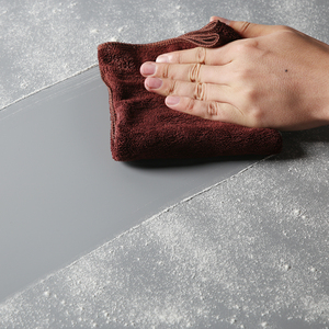 "Image 5 - אפור 68X130 ס""מ 27*51 inch רקע צילום מט נייר PVC ויניל רקע חלק חלקה מים הוכחת"