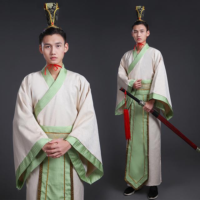 Trajes Antigos chineses para Homens Oriental de Televisão Filme Traje Do Estágio Roupas Reais Masculino Hanfu Tang Terno Vestido Robe Cosplay
