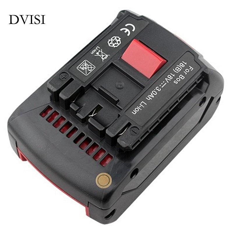Pour Bosch BAT618 Batterie De L'outil Électrique 18 V 3.0AH pour BAT609 BAT618G 336 169 GKS 18 V-LI CCS180 FHN180 RHH180 17618 GSB18