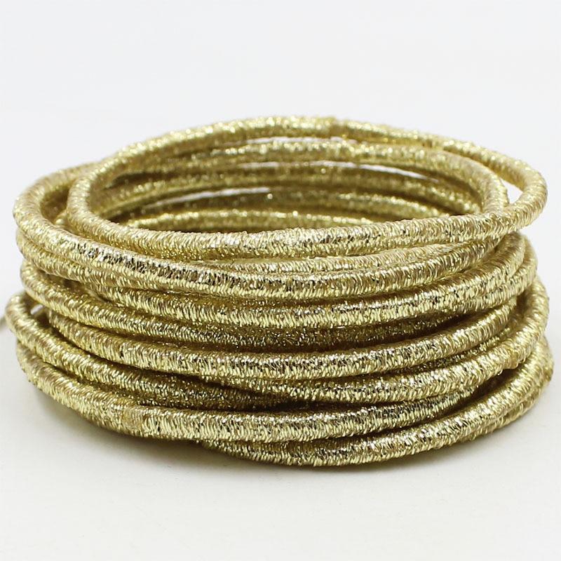 Aikelina Бесплатная доставка 20 шт./лот 0,25 см золотые и серебряные блестящие круглые цветные детские повязки для волос для девочек женские аксес...