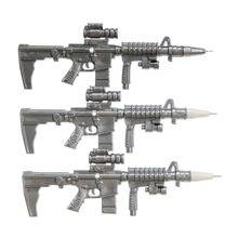 2 pièces créatif mode croix feu mitrailleuse Gel stylo enfants étudiant papeterie prix noir 0.5mm recharge (couleur aléatoire)