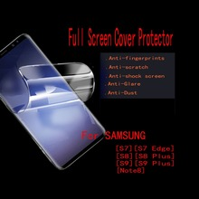 5 шт./лот FENGHEMEI полный Экран Обложка протектор для samsung S8 S9 плюс S10 S10E Lite плюс Примечание 8 9 анти взрыв мягкие ТПУ фильм