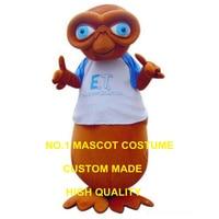 Alien maskot kostüm kahverengi alien maskot özel karakter karikatür cosplay karnaval kostüm 3381