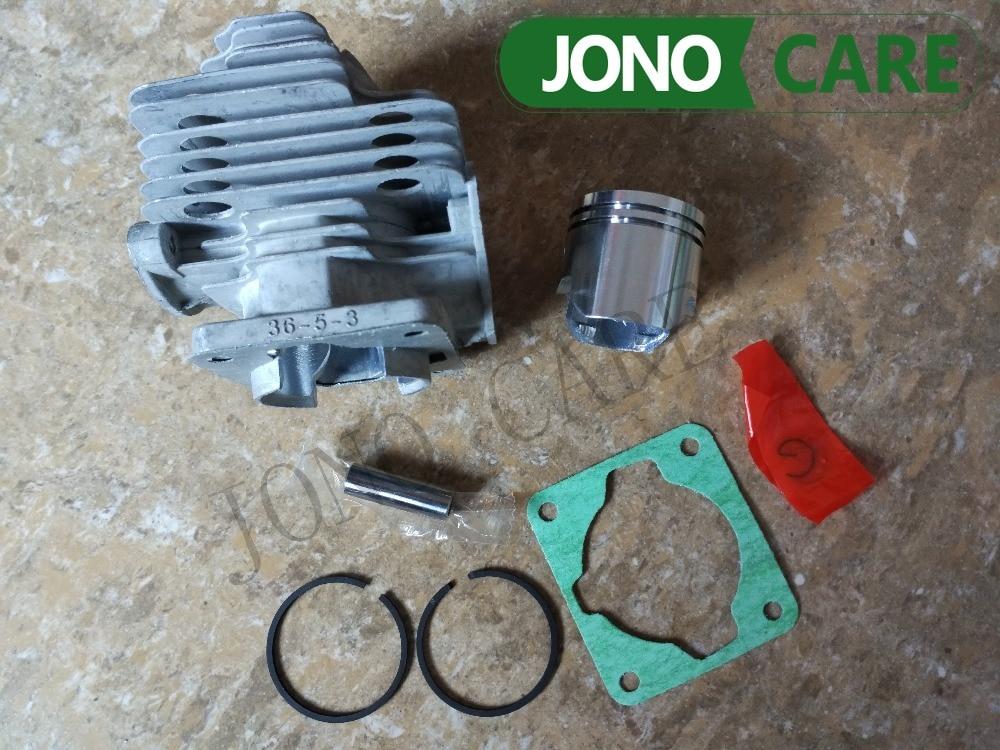 JONO CARE 刈払機草トリマー ミリメートルシリンダーとピストン 6