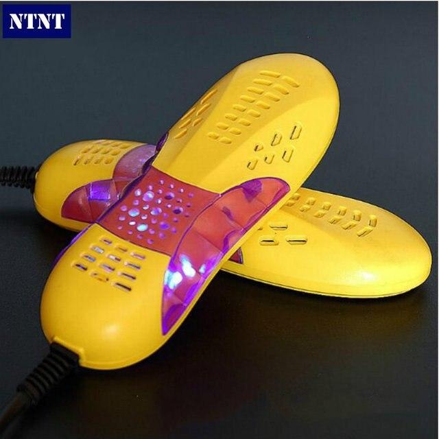 NTNT 220 В 10 Вт ЕС plug Гоночный автомобиль форма voilet свет ботинок ноги защитника загрузки запах Дезодорант устройство обувь осушитель нагреватель
