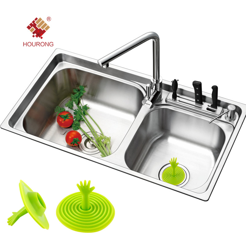 Kitchen Sink Stopper | Us 1 15 30 Off Creative Candy Color Sink Plug Kitchen Sink Stopper Bathroom Accessories Kitchen Wash Basin Spigot Toilet Plug In Vegetable Brushes