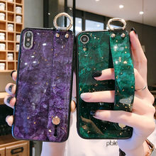 Luxe Marmer Voor iPhone X XS Max XR 7 8 6 s Plus Telefoon Case Soft TPU Silicone Cover Voor Huawei Honor 10 V20 V10 Glitter Case(China)