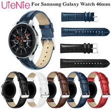 цены 22mm classic luxury strap for Samsung Gear S3 leather wristband for Samsung Galaxy 46mm bracelet for huami amazfit stratos 2 2S