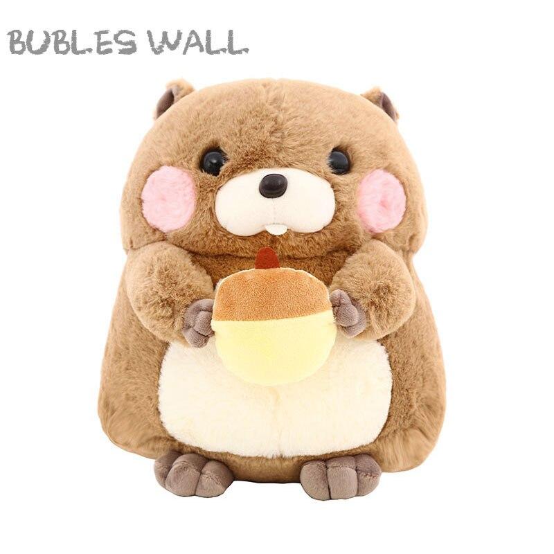 25/30cm Super Cute Hamster Plush Toys Marmot Sutffed Animals Dolls Soft Baby Toy Kids Children's Birthday Gifts Best Girls Gift