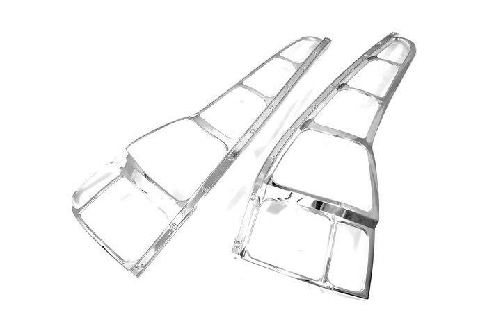 High Quality Chrome Tail Light Cover for Honda CRV 07 Up Free Shipping high quality chrome tail light cover for ford focus mk3 hatchback 12 13 free shipping