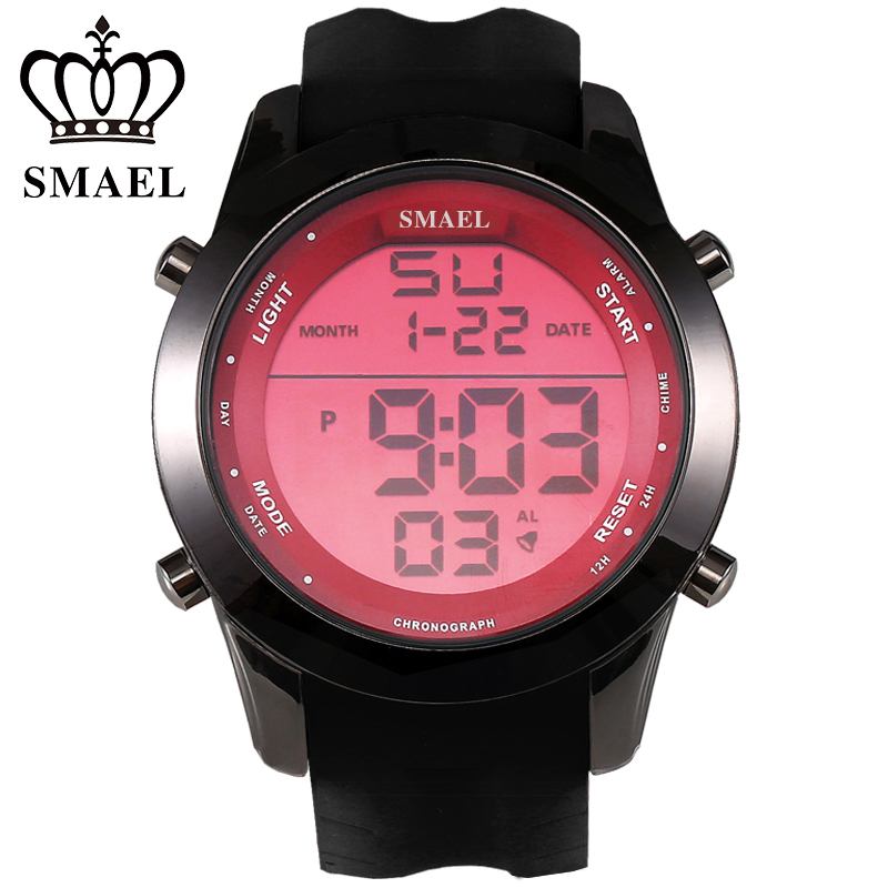 Casual Watch Men Luxury Brand Digital LED Watch Waterproof Sport Wristwatch Digital Clock Male relogio masculino