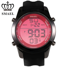 Casual Watch Men Luxury Brand Digital LED Watch Waterproof Sport Wristwatch Digital Clock Male relogio masculino Men Gift WS1076