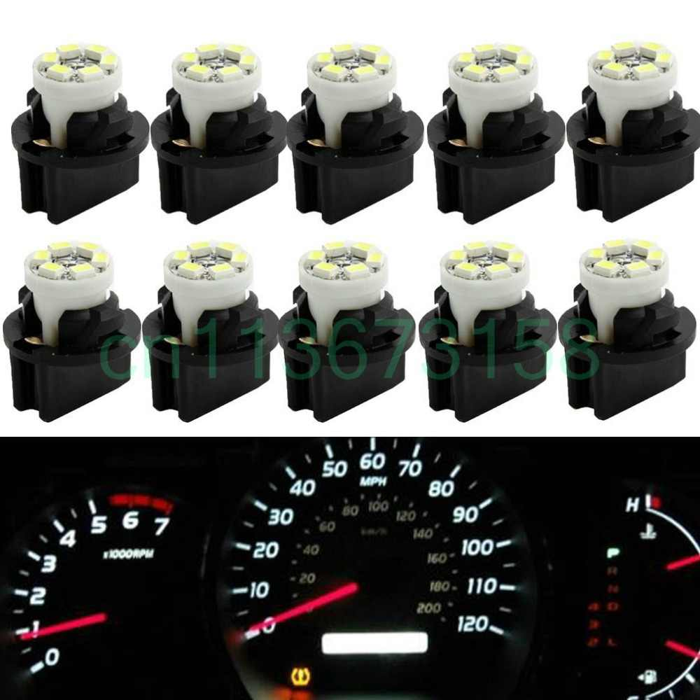 T10 194 LED Light bulb 168 LED Bulbs Bright Instrument Panel Gauge Cluster Dashboard LED Light Set 10 T10 with 10 Twist Lock