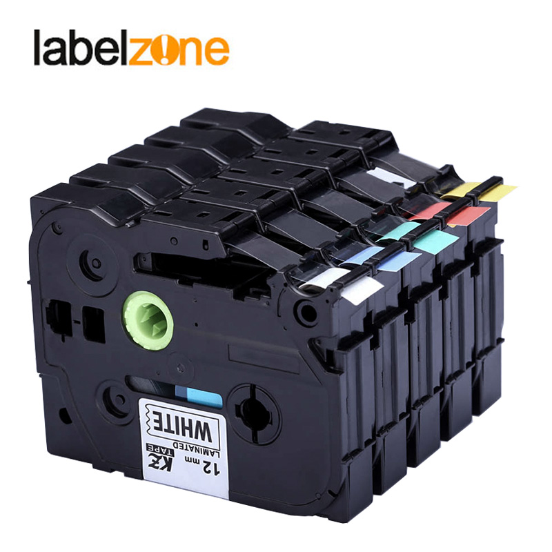 2 Teile/los Multicolor Tze 231 Tze-231 Label Maker Band 12mm Kompatibel Für Brother P Touch Pt Etikettierer Tz231 Tze131 Tz-231 Tze231