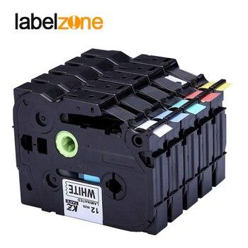 2pcs/lot Multicolor Tze 231 Tze-231 Label Maker Tape 12mm Compatible for Brother P Touch PT Labeler Tz231 Tze131 Tz-231 Tze231