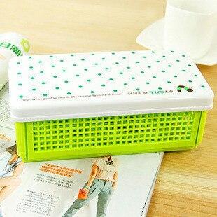 Stationery multifunctional stationery box diy folding debris storage box storage box