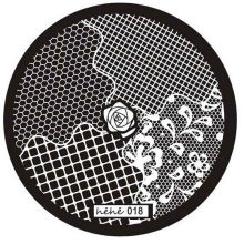 1pc Nail Stamping Plate Round Plaid Pattern Series Nail Art Stamp Image Plate Stencil for Nails DIY Decoration Manicure Tools #H(China)