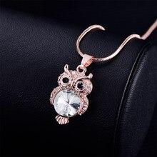 793e24e20477 Oro Color de rosa de plata collares de cadena de serpiente de cristal