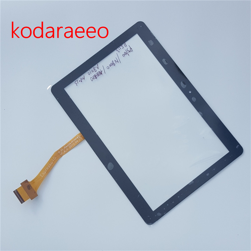 kodaraeeo 100% Tested For Samsung Galaxy Tab 2 GT-P5100 P5100 N8000 P5110 P5113 Touch Screen with Digitizer Free Tools original for samsung p5110 p5100 n8000 touch screen touch screen touch capacitance screen