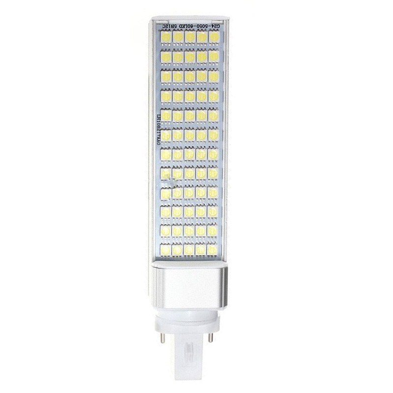 G23 12W 5050 SMD White Led Horizontal Plug Lamp Corn Home Ceiling White Light ...