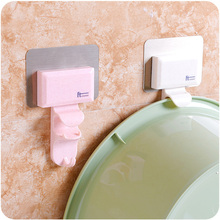 Multi-purpose Seamless Hook Durable Abs Environmentally Friendly Pollution-free Bathroom Kitchen Accessories Wall