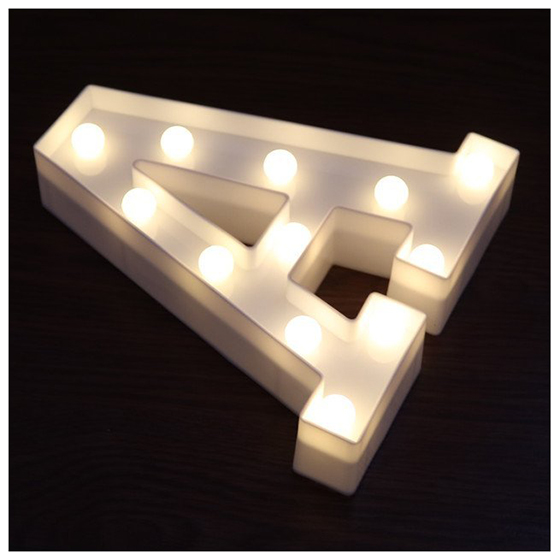 Hot Sale Led Marquee Letter Lights Alphabet Light Up Sign For