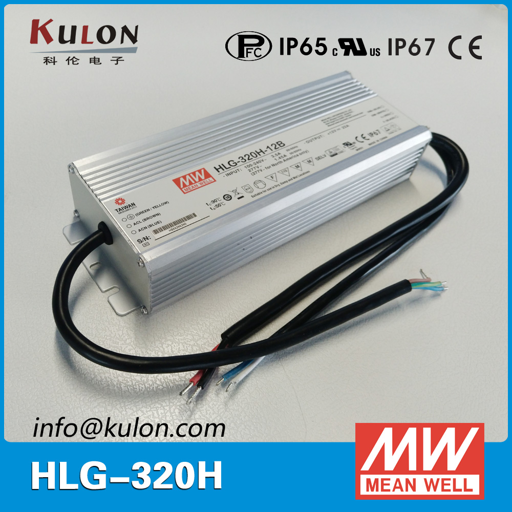 Original Meanwell LED driver HLG-320H-36B 320.4W 8.9A 36V dimming waterproof Mean well LED Power Supply genuine mean well hlg 320h 36b 36v 8 9a hlg 320h 36v 320 4w single output led driver power supply b type