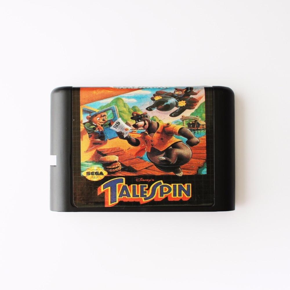 Tale Spin 16 bit SEGA MD Game Card For Sega Mega Drive For Genesis