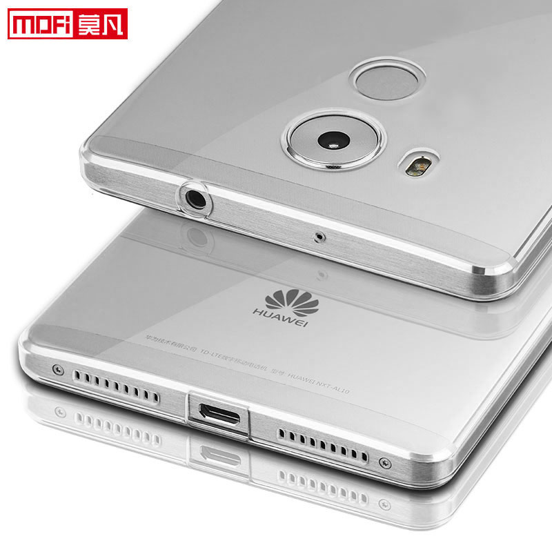 huawei mate 8 case silicon cover clear back protective phone coque mofi original ultra thin