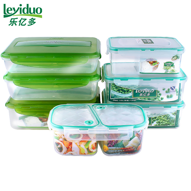 leyiduo Compartment Lunch Box Heated PP Food Heated Leak proof Bento
