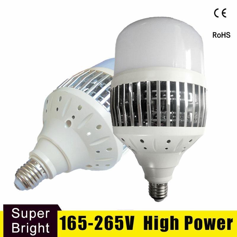 High Power Led Light Bulb E27 E40 Lampada Ampoule Bombilla 50W 80W 100W 150W 220V 230V Led Lamp For Factory Workshop Warehouse