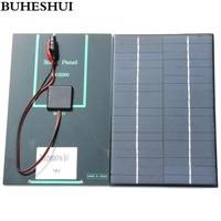 Hot Sale 4 2W 18V Solar Cell Polycrystalline Solar Panel Crocodile Clip For Charging 12V Battery