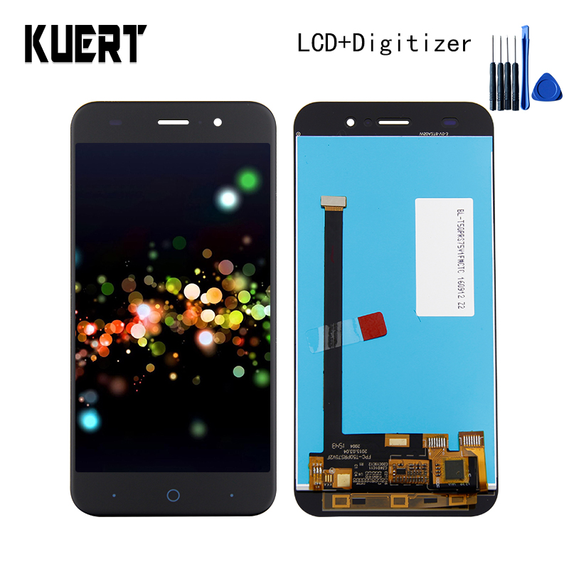 KUERT High Quality LCD For ZTE Blade D6 V6 X7 T660 T663 LCD Display Touch Screen Digitizer Assembly Free shipping image