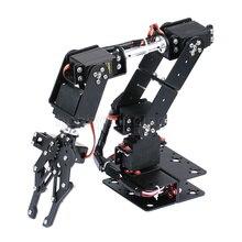 6 DOF робот-манипулятор металлического сплава механическая рука зажим набор для захвата MG996R DS3115 для Arduino роботизированной образования