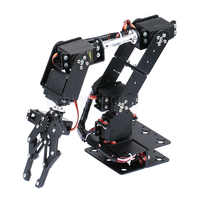 6 DOF Roboter Manipulator Metall Legierung Mechanische Arm Clamp Klaue Kit MG996R DS3115 für Arduino Roboter Bildung