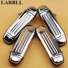 LARBLL 4 Pz/pacco Chrome Anteriore Posteriore Maniglia Esterna Della Porta per Mitsubishi Pajero Montero V31 V32 V33 V43 V45 V46 1991-1999 MR156875