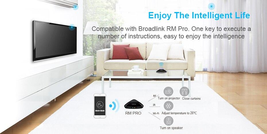 inteligente Wi-fi Sem Fio RF Controle Remoto