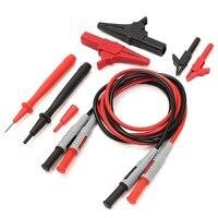 P1600A Test Cable 4mm Banana Plug Alligator Clip Test Hook Broken Wire Hook Multimeters Rod Test