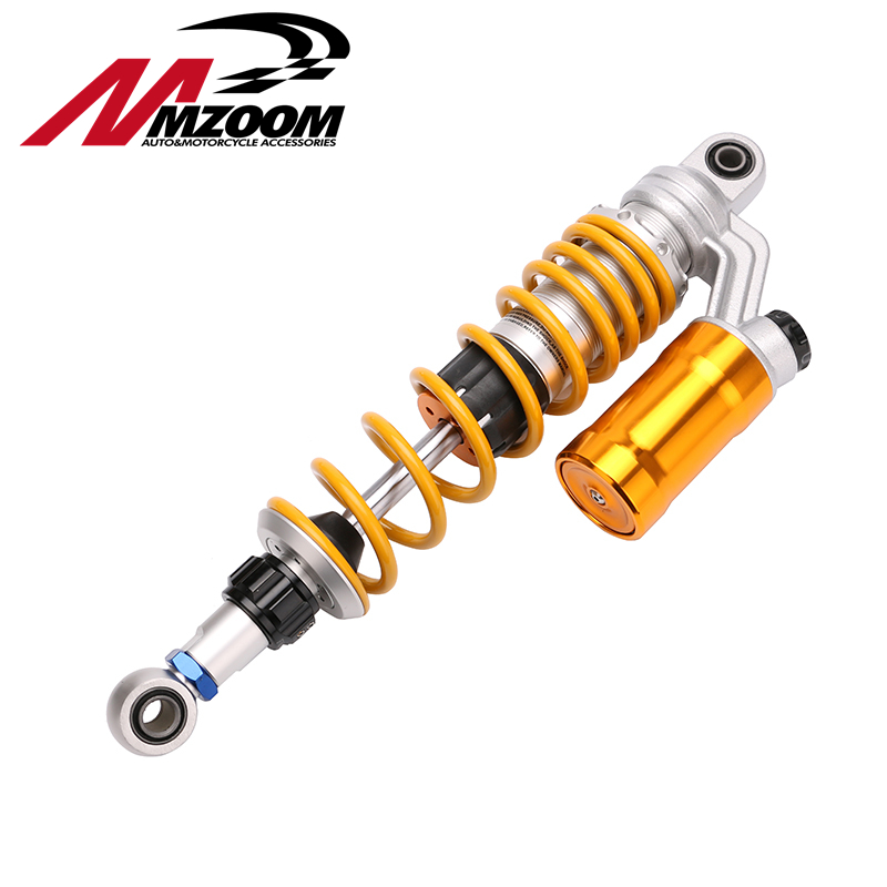 1XPCS 350mm/12.5'' Motorcycle modified Adjust damping Nitrogen Shock Absorbers Rear Suspension For Scooter BWS all motorcycle electric motor speed modification battle calf fight three generation bws damping adjustable shock dj1 horse