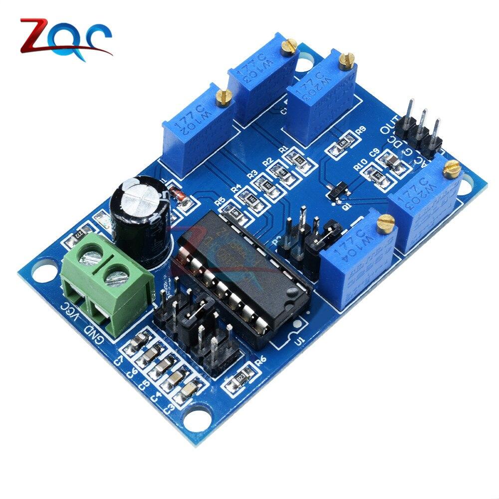ICL8038 אות גנרטור בינוני/נמוך תדר 10Hz-450KHz משולש/מלבני/סינוס גל גנרטור מודול 12V כדי 15V