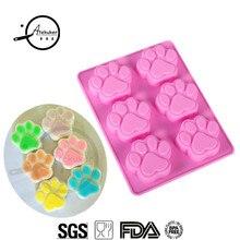 Atekuker силиконовые формы в форме когтей животных для выпечки тортов Кондитерские инструменты Пудинг Желе DIY Форма мыла ручной работы
